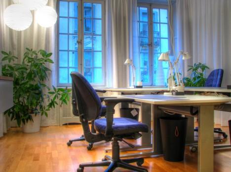 Insbesondere in nichtklimatisierten Büros können Pflanzen einen entscheidenden Beitrag zur Verbesserung des Raumklimas leisten