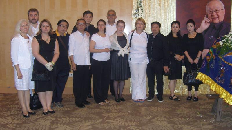 Teilnehmer der Totenwache - Bild 1