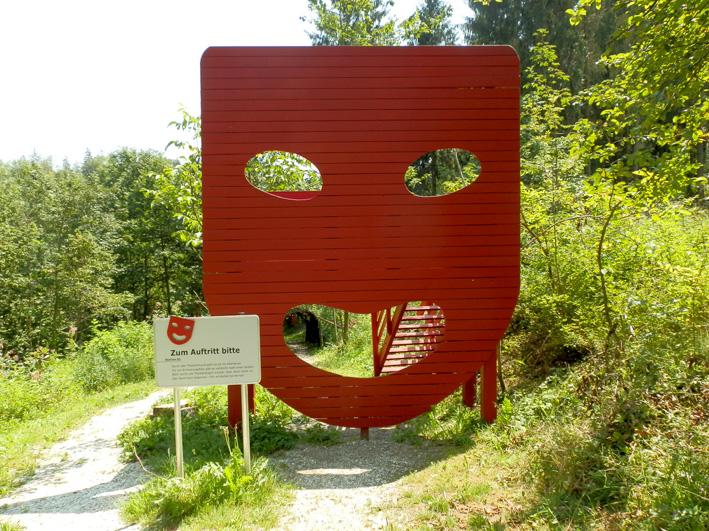 Theaterweg in St. Josef bei Graz, Foto (C) Irmgard Brottrager
