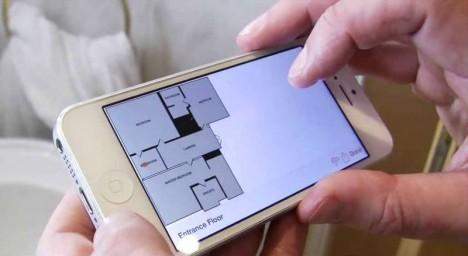 RoomScan - mit einer iPhone-App im Handumdrehen Grundrisse von Räumen anfertigen