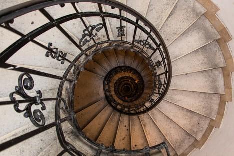 Wendeltreppe in der Saint Istvan Basilika in Budapest, Foto (C) Jan Fidler / flickr