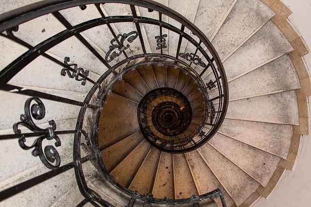 Wendeltreppe In Der Saint Istvan Basilika Budapest Foto C Jan Fidler