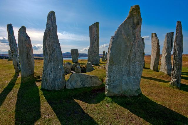 Steinkreis in Schottland, Foto (C) Andrew Bennett / flickr
