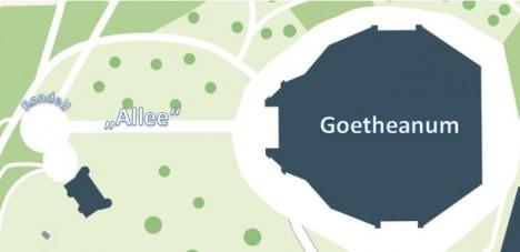 Der Grundriss des Goetheanums