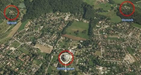 Lage des Goetheanums