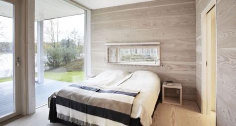Schlafzimmer mit Terrasse, Foto © POLARLIFEHAUS