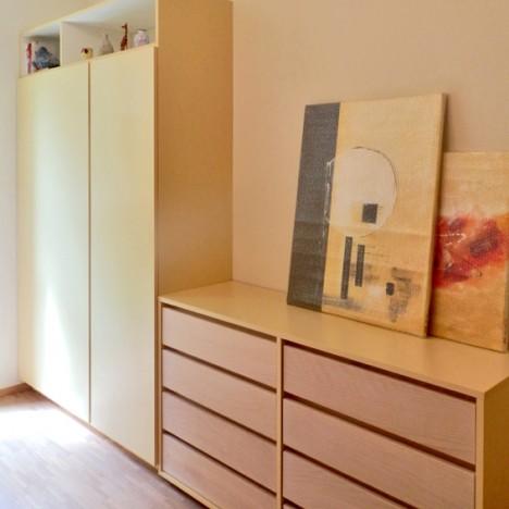 Schlafzimmer TonInTon, Foto (C) Irmgard Brottrager