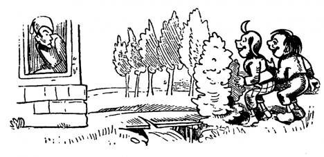"""Die beiden Buben ahnten nicht, wie viel sie mit Feng Shui zu tun hatten. Foto: """"Max und Moritz (Busch) 030"""" von Wilhelm Busch - extract from original an book. Lizenziert unter Gemeinfrei über Wikimedia Commons - https://commons.wikimedia.org/wiki/File:Max_und_Moritz_(Busch)_030.png#/media/File:Max_und_Moritz_(Busch)_030.png"""