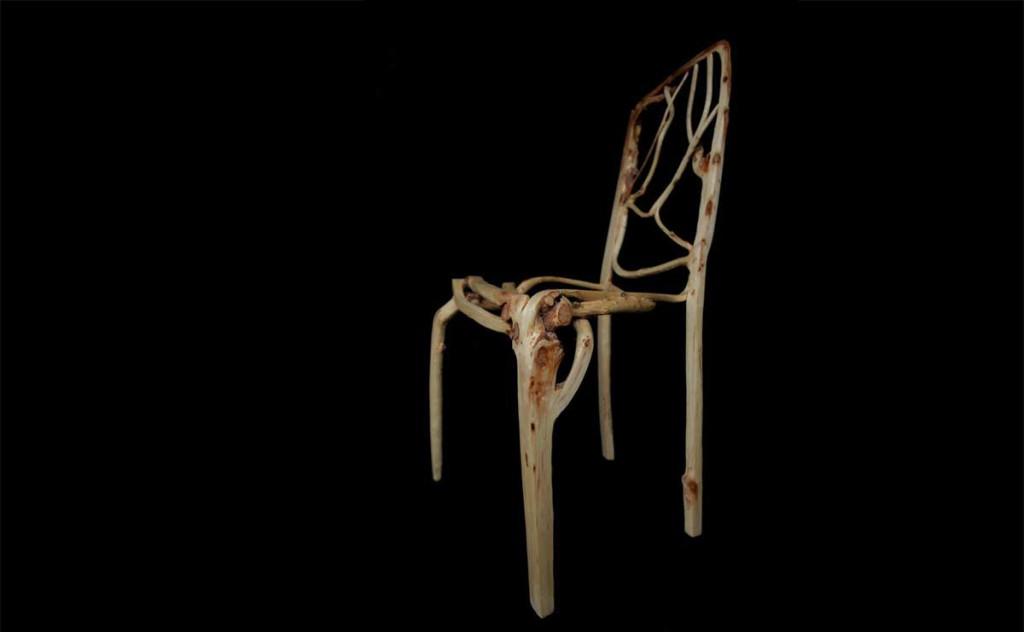 Gewachsener Stuhl