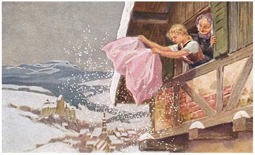 Frau Holle: Wer hat sich nicht in seiner Kindheit mit der fleißigen Goldmarie identifiziert?