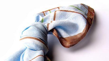 Knoten im Taschentuch: Woran sollte mich das nochmal erinnern?