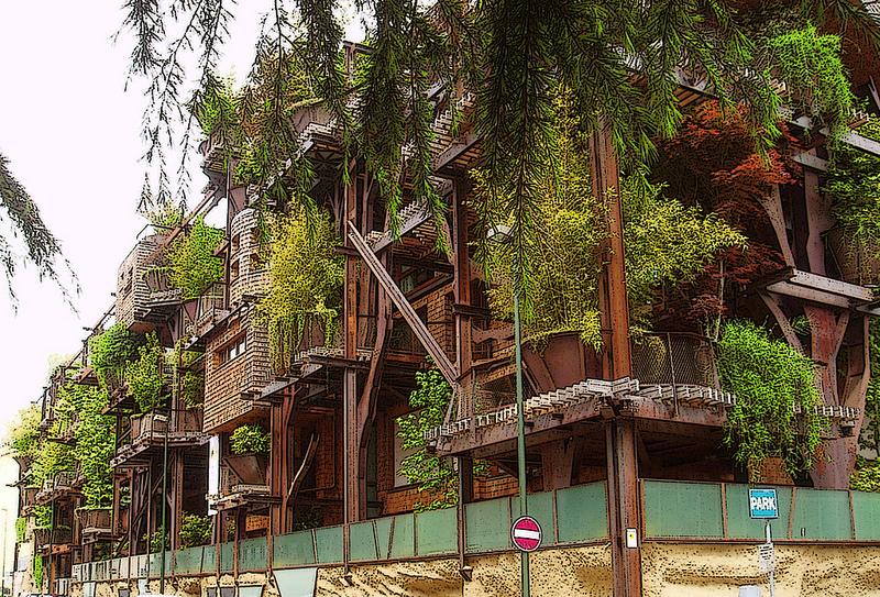 25 Verde in Turin: Modernes Baumhaus mitten in der Stadt