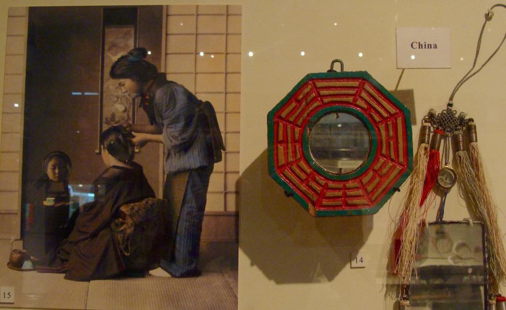 BaGua-Spiegel wurden in China seit Jahrhunderten eingesetzt um den Chi-Fluss zu lenken.