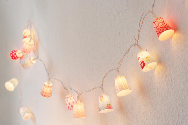 Geht ganz einfach: Eine Lichterkette selber basteln