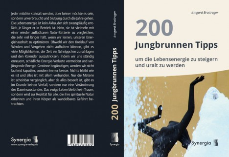 Umschlag, 200-Jungbrunnen-Tipps, Grafik: Synergia-Verlag
