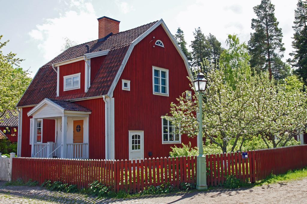 Holzhäuser sind in Schweden längst Standard.