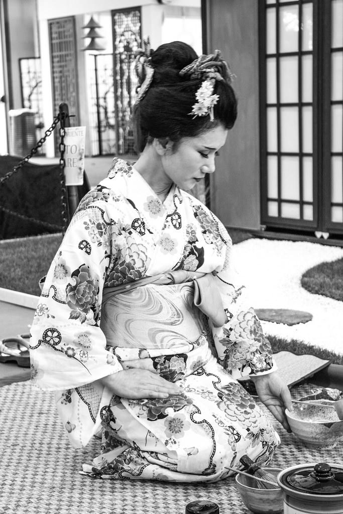 Geisha auf dem Festival Dell'Oriente 2015