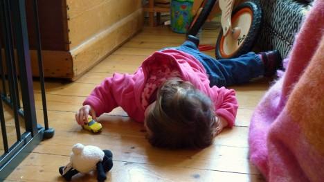 Natürlich wohnen: Holzfußboden im Kinderzimmer