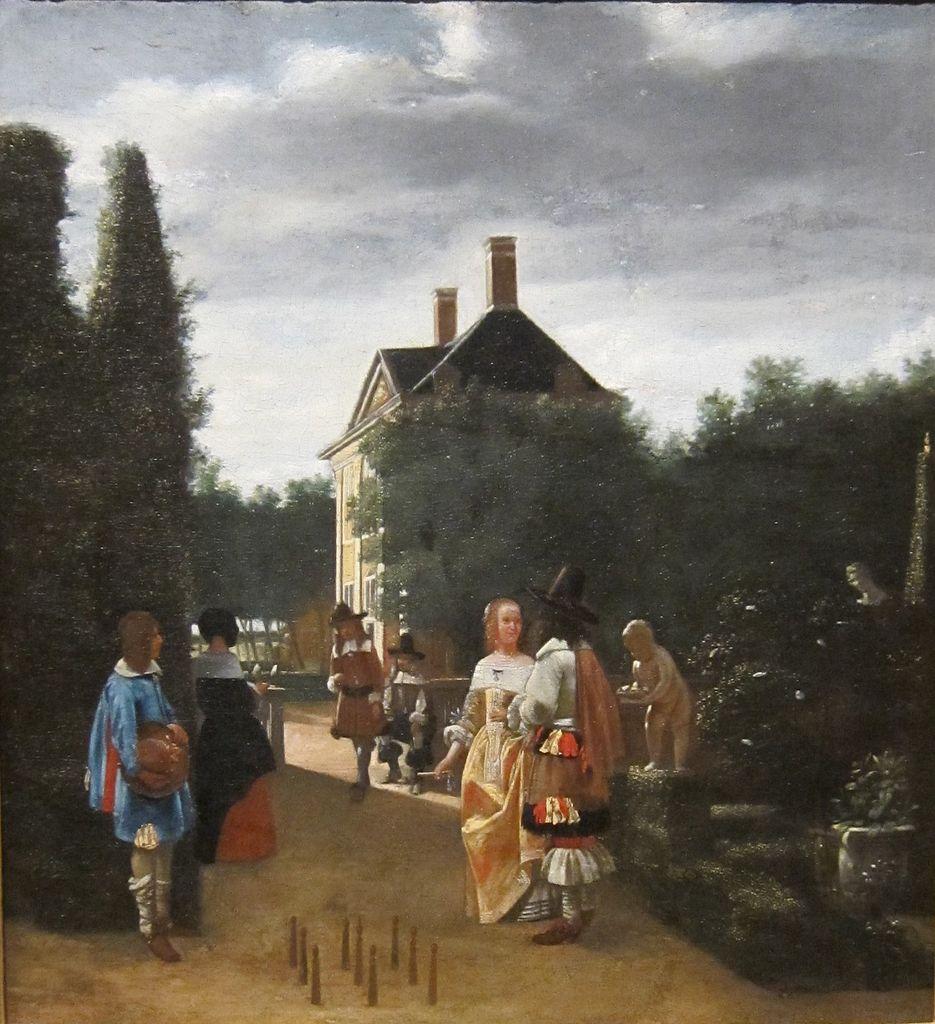 Gut Holz! - Kegelspieler im 17. Jahrhundert