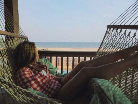 Relaxen in der Hängematte: Einfach mal nichts tun und Entscheidungen reifen lassen