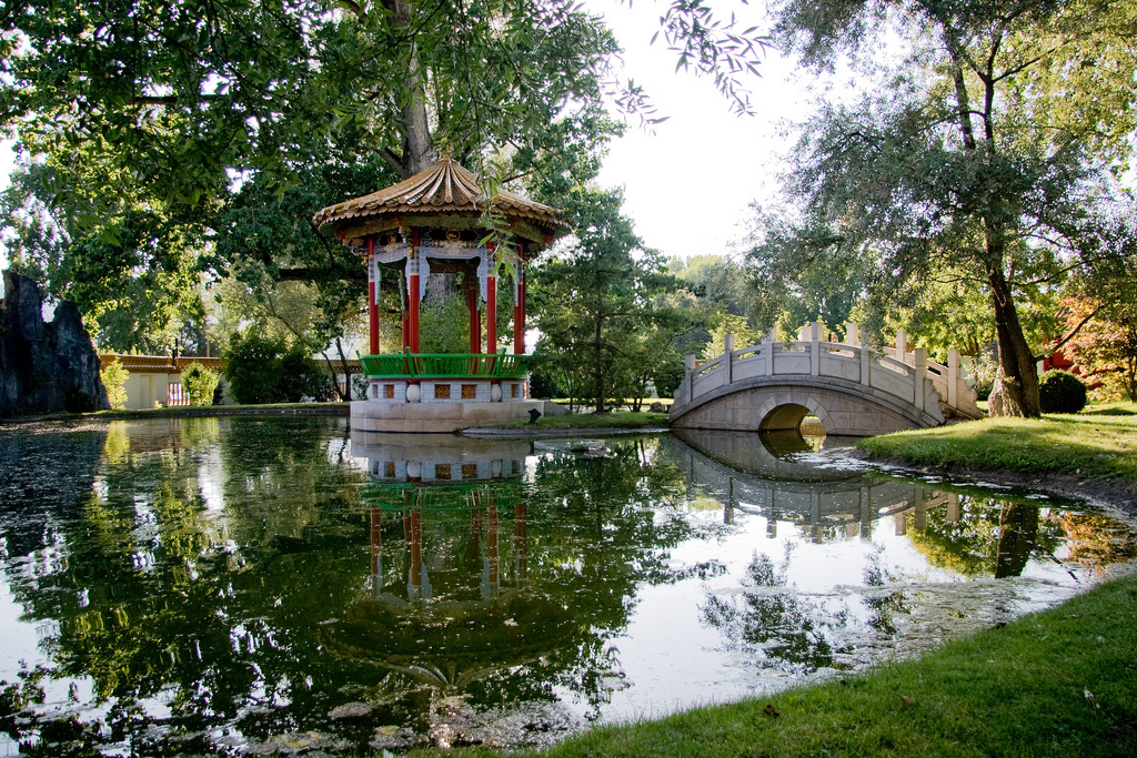 Chinesischer Garten in Zürich: Auch in Europa gibt es viele Reiseziele für Feng Shui Liebhaber