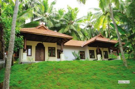 Ein echtes Refugium: Nikki's Nest in Kerala, Indien