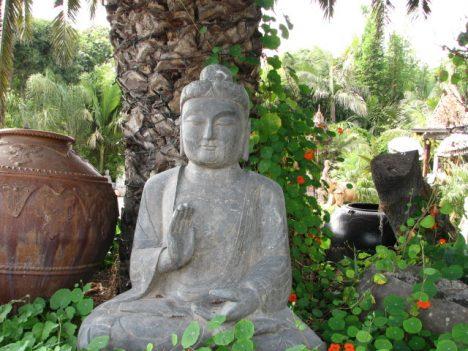Outdoor Feng Shui ist viel mehr als eine Buddha-Figur im Garten
