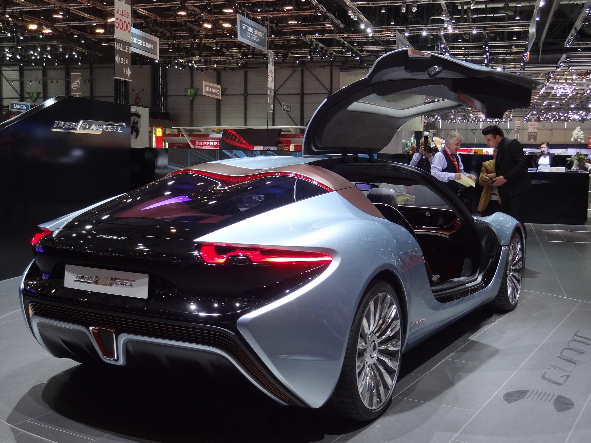 Dieser ältere Prototyp wurde bereits im Jahr 2014 in Genf vorgestellt. Foto (C) Werner Bayer / flickr