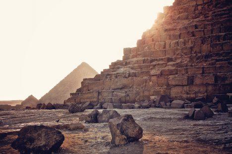 Die Pyramiden von Gizeh, Foto (C) Simon Matzinger / flickr