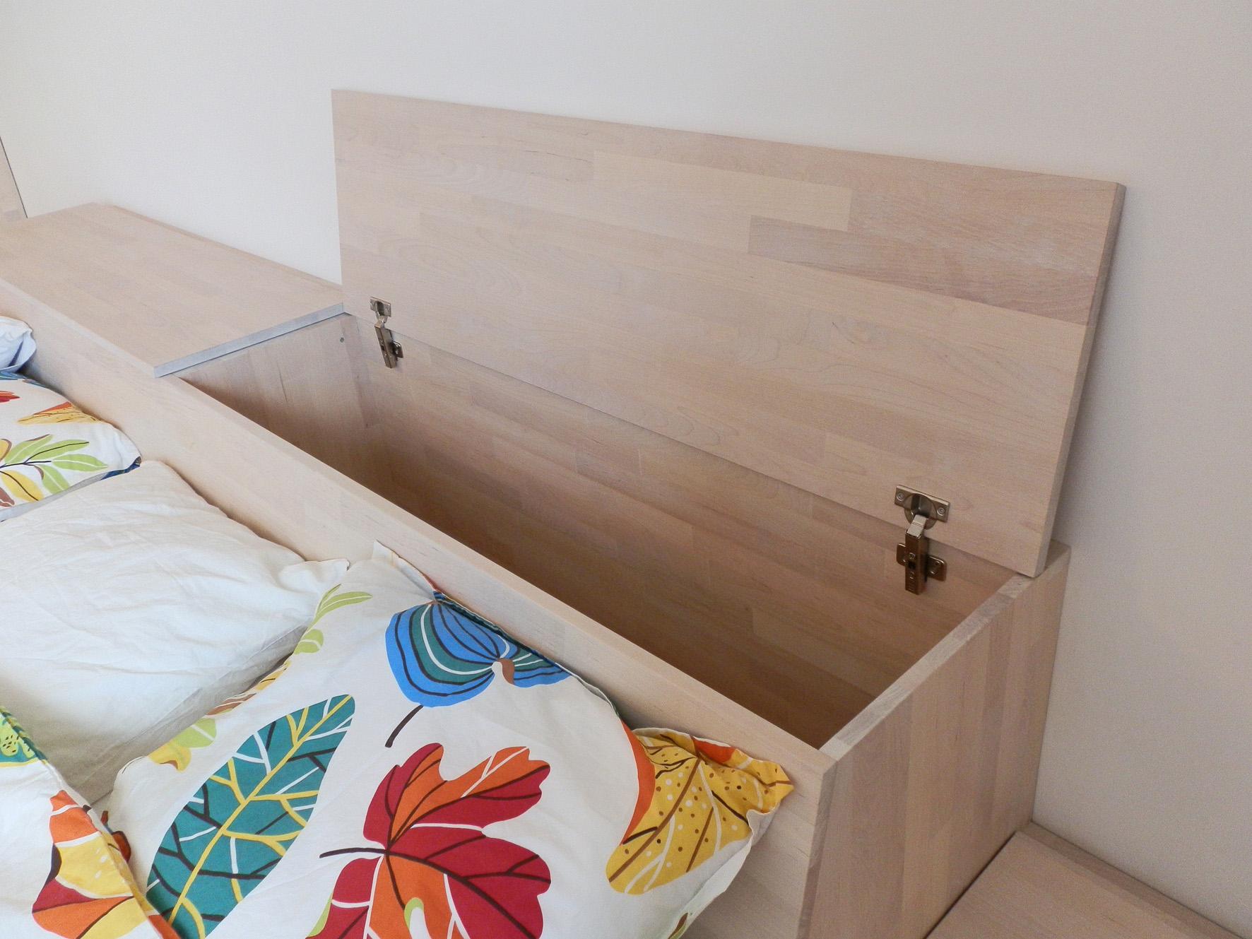 Schlafzimmer-Einrichtung in großen Altbauräumen