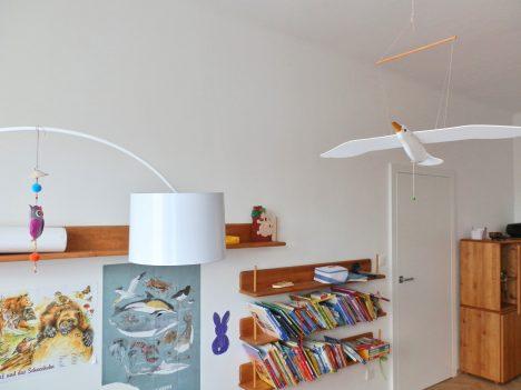Blick in ein Kinderzimmer, Raum(mit)gestaltung + Foto (C) Irmgard Brottrager
