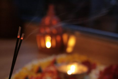 Spirituelle Räucher-Zeremonie