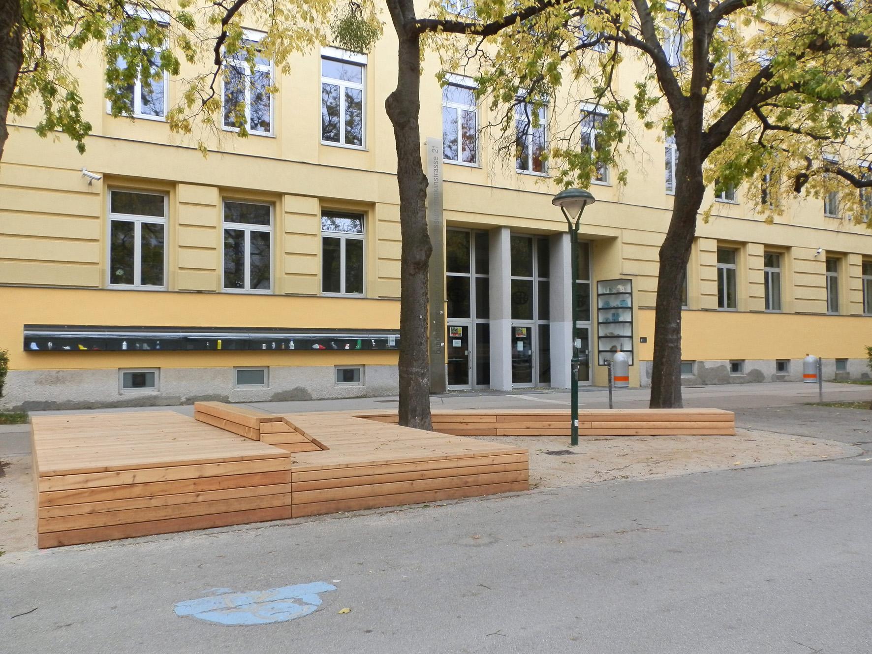 Projekt Franklinstraße, Foto (C) Irmgard Brottrager