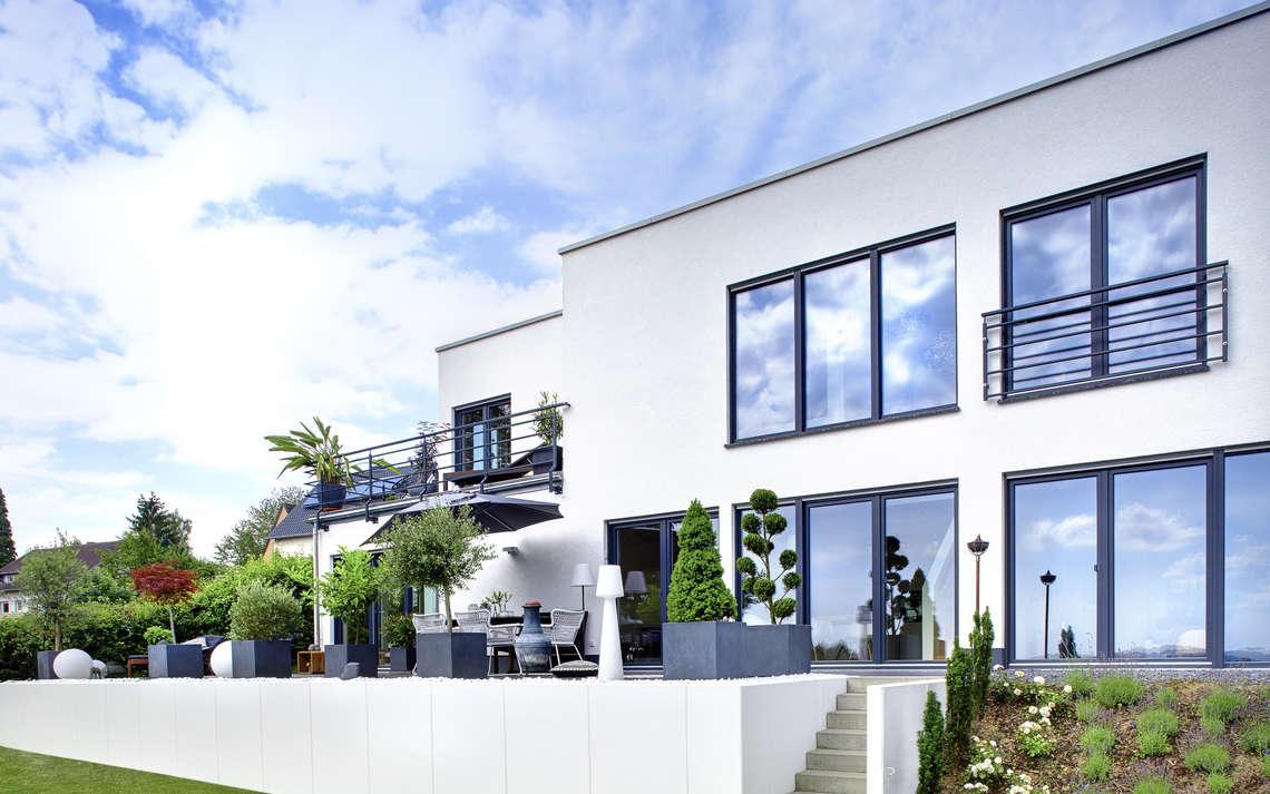 Architektenhaus oder Fertighaus?Die Antwort findet ihr hier. Foto (C) kern-haus.de