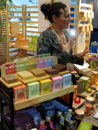 Seifen und Duftöle erfreuen sich nicht nur auf Wellness-Messen reger Nachfrage
