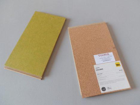 Vor- und Rückseite einen Linoleum-Click-Systems, Foto (C) Irmgard Brottrager