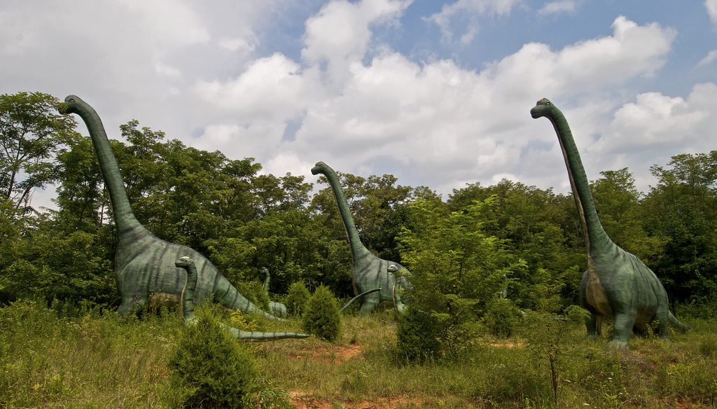 Dinosaurier-Welt in Kentucky, Foto (C) Peter Rivera / flickr CC BY 2.0