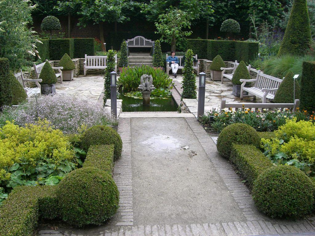 Buchsbaum-Garten, Foto (C) -epsilon- / flickr CC BY 2.0