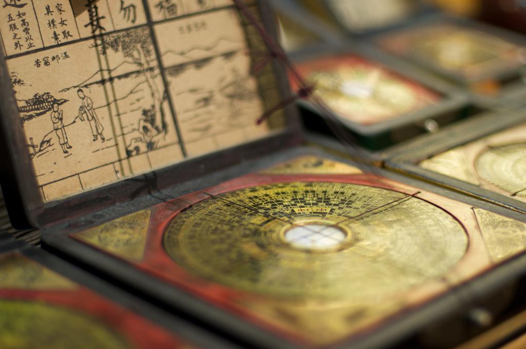 Der Feng Shui Kompass - das wichtigste Hilfsmittel im Feng Shui seit Jahrhunderten.