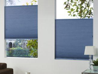 Plissee als Sicht- und Sonnenschutz sowie als Deko-Element