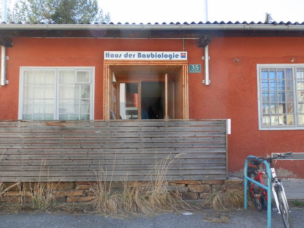 Das Grazer Haus der Baubiologie in ein Verein und befindet sich in der Moserhofgasse. Foto (C) Irmgard Brottrager