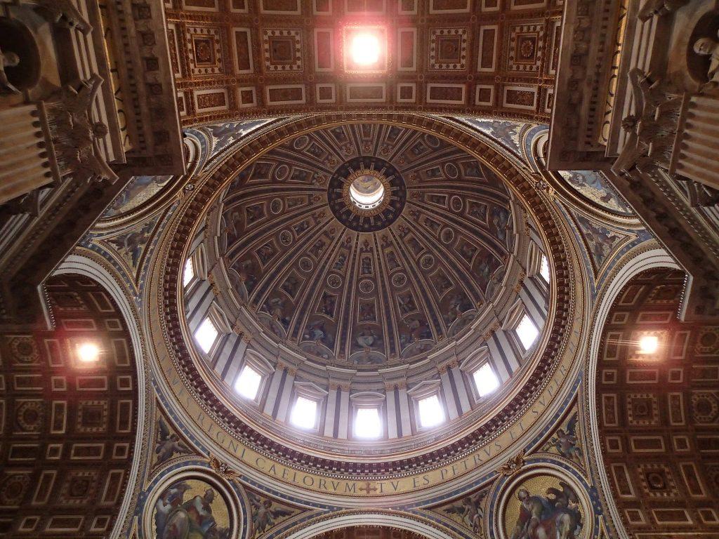 Historisches Kuppel-Dach von innen, Foto (C) Patrik Tschudin / flickr CC BY 2.0