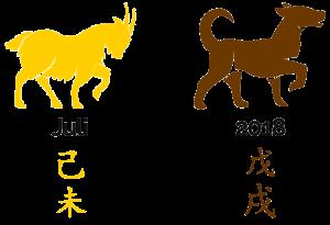 2018 - der Monat der Erd-Ziege