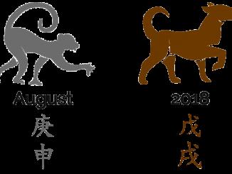 2018 - der Monat des Metall-Affen