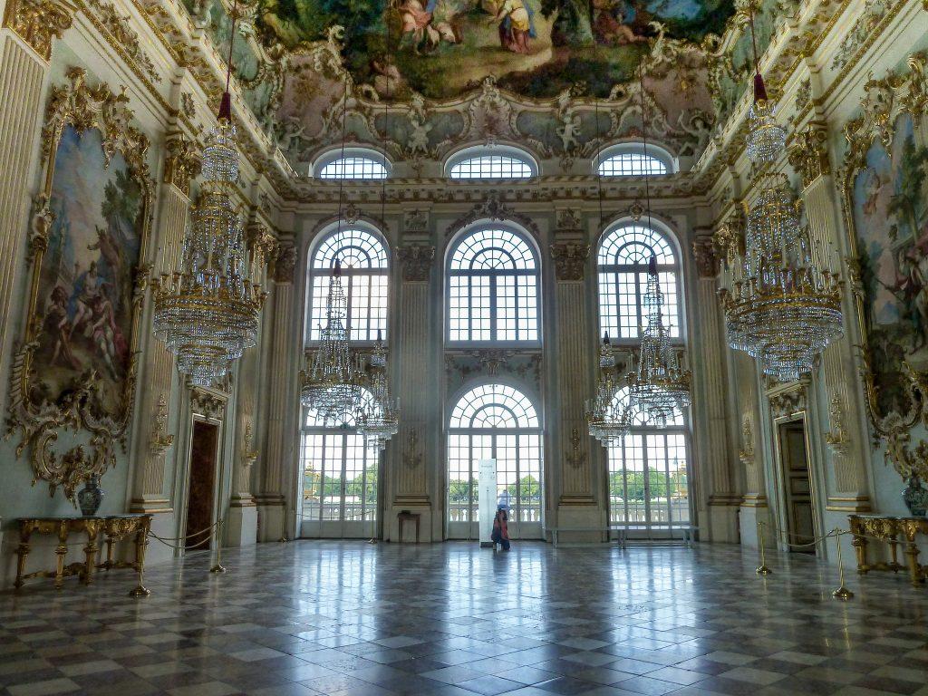 Steinerner Saal im Barockschloss Nymphenburg. Foto (C) Ralf Steinberger / flickr CC BY 2.0