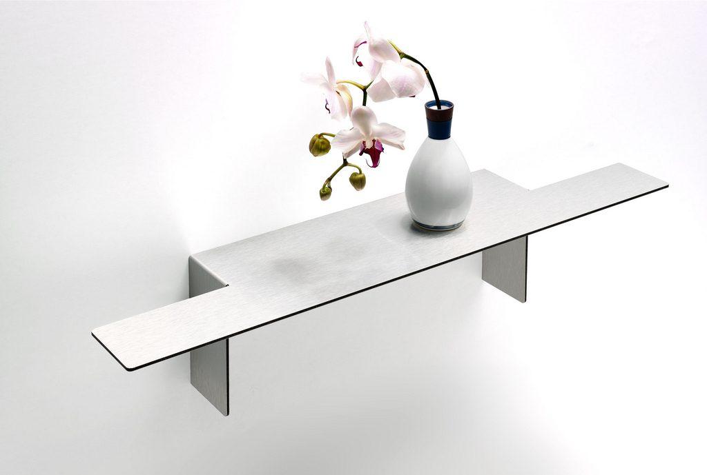 """Easyshelf"" heißt dieses originelle Falt-System aus Aluminium. Foto (C) bp_fotos / flickr CC BY 2.0"