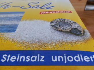 Naturbelassenes Steinsalz enhält natürliches Jod. Foto (C) Irmgard Brottrager
