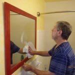 Spiegel säubern