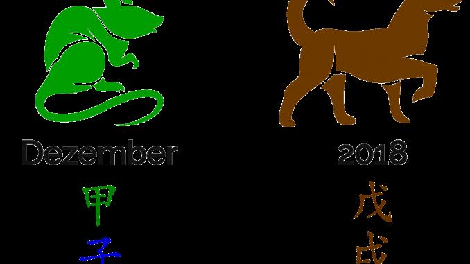 2018 - der Monat der Holz-Ratte