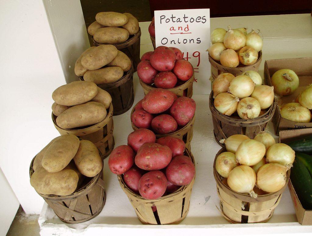 So sollte man Kartoffeln nicht lagern! Foto (C) Bob / flickr CC BY 2.0